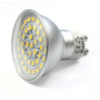 China sliver aluminum housing led spot down lights GU10 MR16 bulb led lamps 12V outdoor lighting wholesale