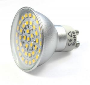 Quality sliver aluminum housing led spot down lights GU10 MR16 bulb led lamps 12V for sale