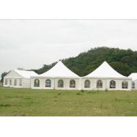 China Durable 10 x 10 Canopy Tent , Aluminium Marquee Frame Tent 5.7 M Ridge Height wholesale