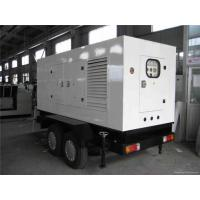 50 Kva Silent Cummins Generator Set Electrical Starting Trailer Mounted Generator