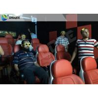 China Luxury Electric System 5d Movie Theatre 2DOF Motion Seats For Shopping Mall wholesale