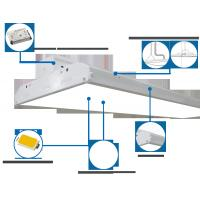 Quality 225W Linear LED High Bay Light , Suspended Industrial Lighting Fixtures for sale