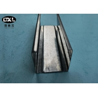 China Smooth Surface Metal Stud U Channel No Deformation Galvanized Strip Steel Material wholesale