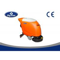 China 550W Suction Motor Hand Held Floor Scrubber Machine Linetex Rubble Blade wholesale