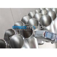 Buy cheap WP316L Stainless Steel Flanges Pipe Fittings 90 Degree Elbow , Long Radius Elbow from wholesalers