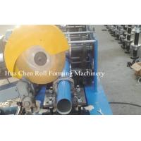 China Color Steel Sheet Circular Downspout Roll Forming Machine With 15 Rows wholesale