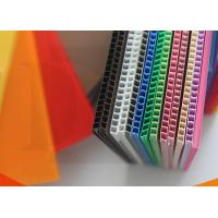 China Eco - Friendly Waterproof CMYK Full Color PP Flute Board Correx pp plate sheet wholesale