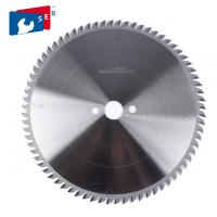 China Durable Alloy Saw Blade , Aluminum Cutting Circular Saw Blade High Speed on sale