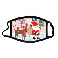 China Christmas Digital Printing Dust Washable Mask For Daily wholesale