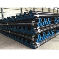 China CS seamless pipe tube API 5L ASTM A106 sch xs sch40 sch80 sch 160 seamless carbon steel pipe st37/black steel pipe wholesale