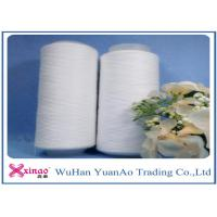 China Plastic Tube Spun TFO High Tenacity Polyester Yarn 30/1 30/2 30/3 Raw White or Dyeing Color wholesale
