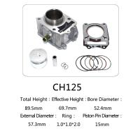 China CH 125 Honda 125cc Water Cooled Cylinder Kit For Motorcycle Engine Parts wholesale