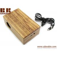 China New Mini Induction portable Boombox For phone Wireless music speaker Wooden Speaker on sale