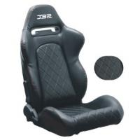 UV Protected Durable Fabric Or Leather Sport Racing Seats Easy Installation