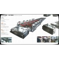 China WPC Profile Extruder Production Line / Wood Plastic Double Screw Extruder wholesale