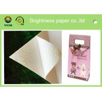 China White Bristol Art Cardboard Sheets Two Sides Coated For Wrapping Packaging wholesale