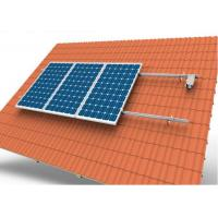 China Adjustable Tile Solar Panel Roof Mounting Systems With 10 Years Warranty wholesale