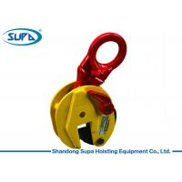 China Spring Loaded Vertical Plate Lifting Clamps , Steel Plate Lifting Clamps OEM Cooperation wholesale