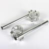 China CNC Machining Motorcycle Clip Ons Handlebars 54mm Buell Firebolt 1125 wholesale