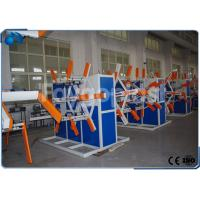 China Automatic Plastic Pipe Winding Machine / Tube Coiler Machine Double Disc on sale