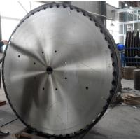 China Nonferrous metal cutting Tungsten carbide circular saw blade for aluminum round bar on sale