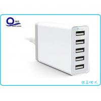 China 5 Ports USB Charging Station Desktop USB Hub with 40W 8A  for USB Smart Charger wholesale