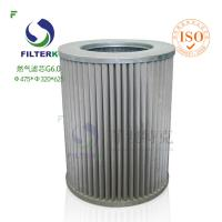 China G6.0 Circle Industrial Gas Filter , Gas Gathering Station High Pressure Filter wholesale