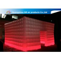 China 210T Polyester Fantastic House Inflatable Cube Tent Size 5*5m wholesale