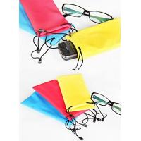 China 600D Nylon Microfiber Sunglass Pouch , Children's Soft Case For Glasses wholesale
