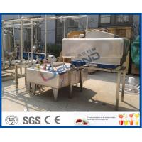 China 1TPH - 10TPH ISO Standard Milk Pasteurizer Machine For Milk Pasteurization Plant wholesale