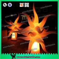 China Event Decoration Lighting Inflatable Flame Model,Inflatable Pillar With LED Light wholesale