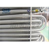 China Boiler Pressure Parts Spiral Finned Economizer Power Plant ASME Standard wholesale