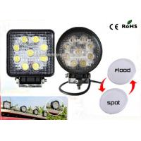 China 27w Led Truck Work Lights IP67 Waterproof 4.3 Offroad Led Work Light on sale