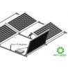 China 2020 Lightweight Rust Resistance Aluminum Structure Solar Bracket  Flat Roof Ballasted Mounting  Anodized Finishing wholesale