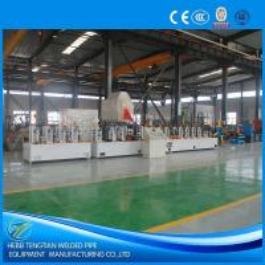 China Galvanised Steel Precision Tube Mill Rectangular Shape 100m / Min Mill Speed wholesale