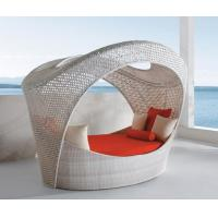 China 2014 China Outdoor beach rattan daybed furniture wholesale