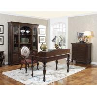 China Home Office Study room furniture Wooden Reading Writing desk Computer table with Storage cabinet and Bookshelf cabinet wholesale