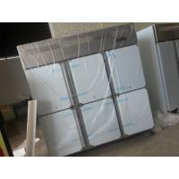 Quality Stainless Steel Commercial Upright Freezers 6 Doors For Restaurant Factory for sale