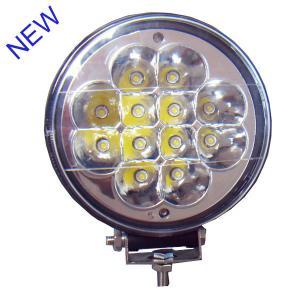 China Hanka Epistar Led Car Driving Lights , 36W IP67 Round Truck Driving Light wholesale