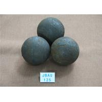 Quality High Precision Unbreakable Hot Rolled Alloy Grinding Balls for Ball Mill / Gold for sale