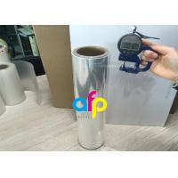 China 76mm Core BOPP Plain Film , Wet Lamination Film For Large Format Laminate wholesale