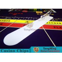 China Card Transmission Casino Table Accessories Brand Shovel With Custom Printing Logo wholesale