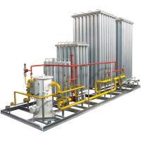 Quality Automatic Mobile LNG Filling Skid Mounted Equipment 1.6mpa for sale