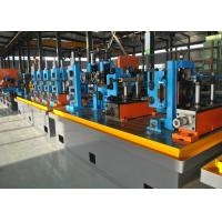 China Straight Seam High Frequency Erw Pipe Milling Machine , Worm Gearing Max.80m / min wholesale