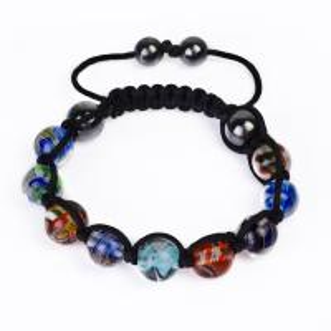 China Shamballa Style Crystal Bangle Bracelets CJ-B-157 wholesale
