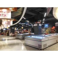 China Commercial Large Glass Display Showcase / Island Display Freezer 2000 * 1080 * 900 on sale