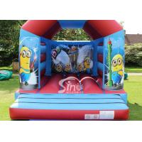 China Commercial Children Inflatable Jumping Castles With Despicable Me Theme wholesale