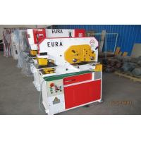 China Multifunctional Hydraulic ironworker machine conbined punch and shear machine wholesale