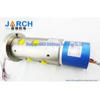 China 2 ~36 Circiuts Power Singnal Hybrid Slip Rings / Hydraulic Rotary Union 6 Passage Oil wholesale