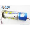 China 2 ~36 Circiuts Power Singnal Hybrid Slip Rings / Hydraulic Rotary Union 6 Passage Oil wholesale